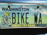 License Plates - Washington BikesWashington Bikes