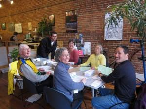 February volunteer work party