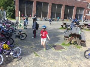 Bike Parking at Loyal Heights