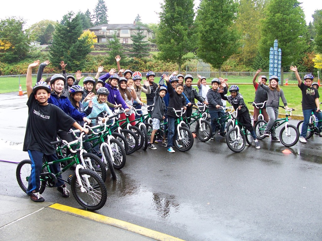 Investments in Safe Routes to School make it possible for kids to enjoy bicycling safely