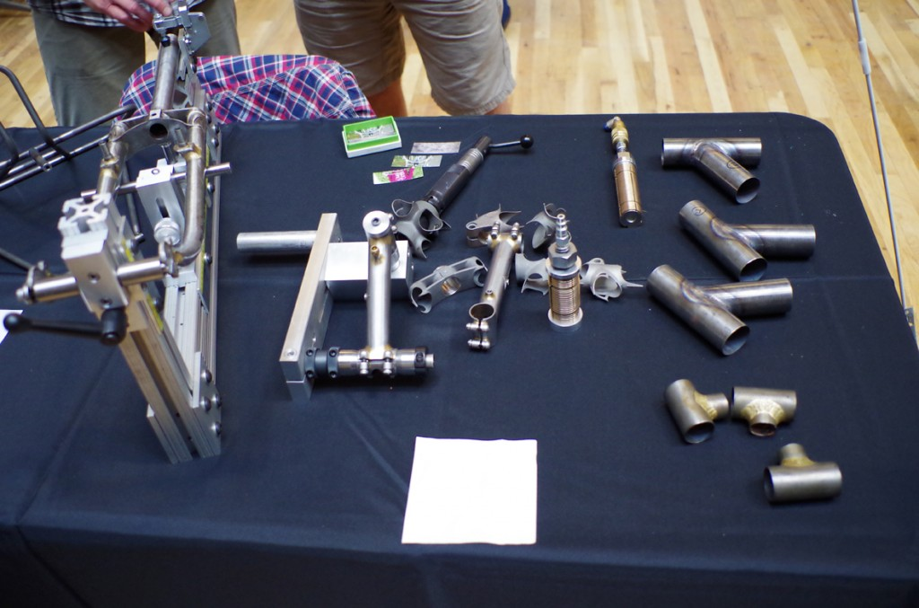 participants learned about bicycle fabrication