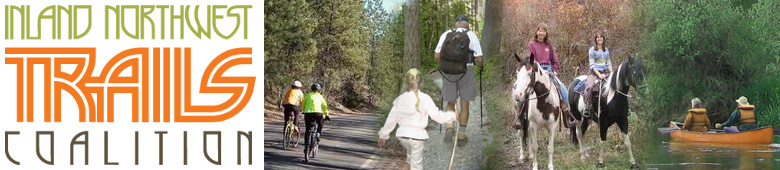 Inland Northwest Trails Coalition logo and web site banner