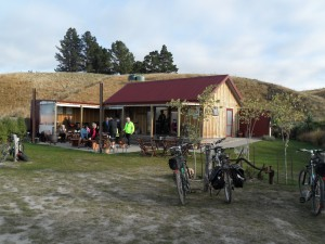Cafe stop at town of Lauder
