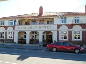 Art deco hotel in Ranfurly