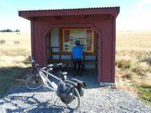 Old rail sheds serve as info kiosks