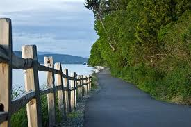 Guemes Channel Trail, Anacortes, WA. Picture by Anacortes Parks Foundation. Skagit County, WA.