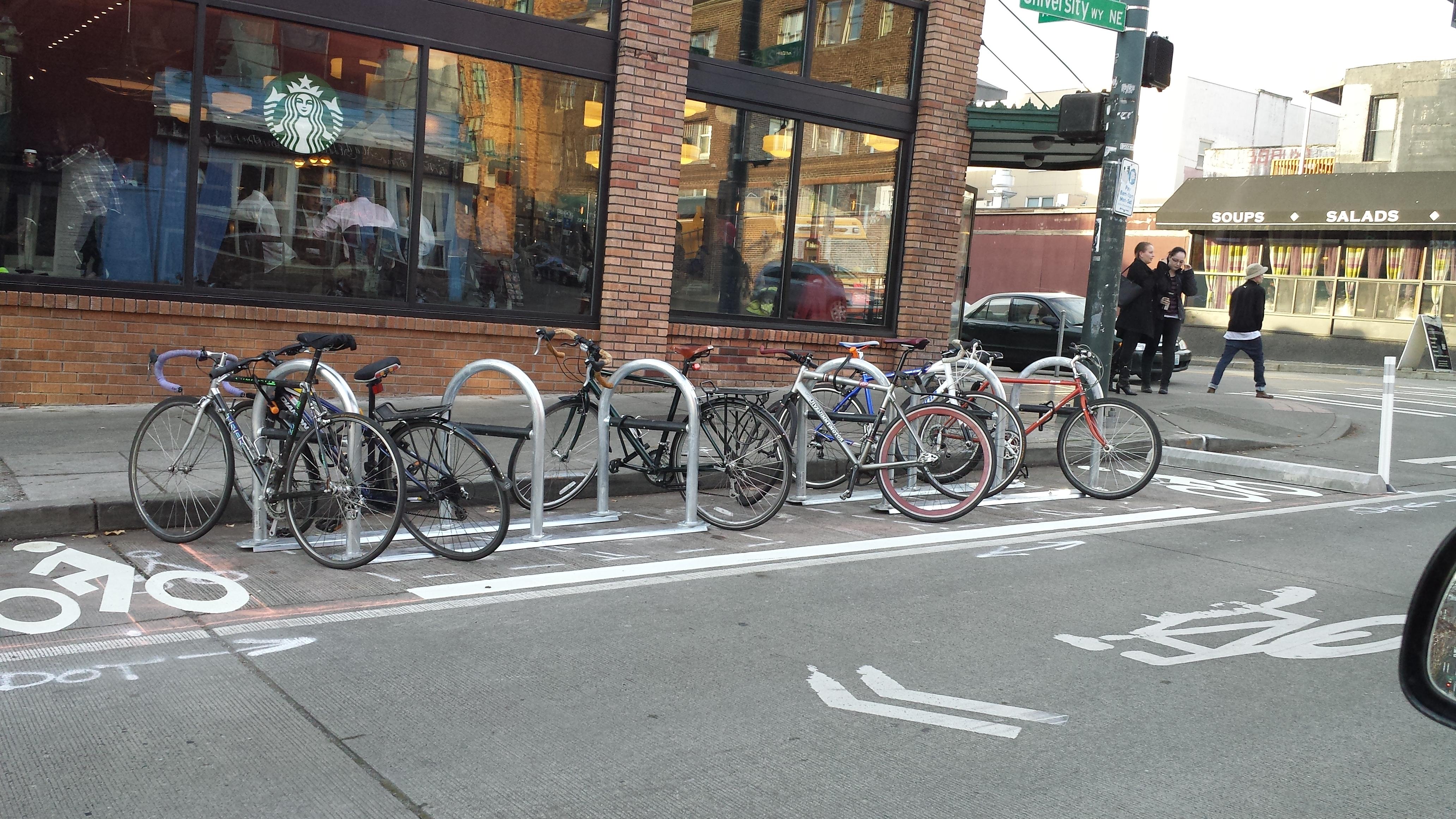 Delivering More Bike Parking For Seattle Washington