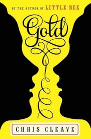 """Cover of book """"Gold"""" by Chris Cleave, about two women competing for a spot on the British Olympics track cycling team."""