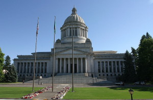 Washington State Capitol - courtesy of  Cacophony