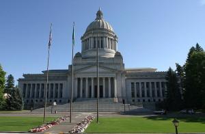 Washington State Capitol - courtesy of  Cacophony