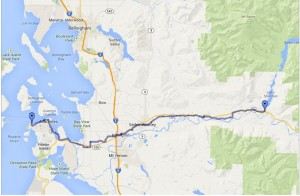 USBR10: Anacortes to Concrete, WA