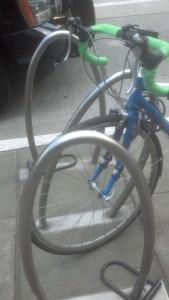 Bike rack 3 loops