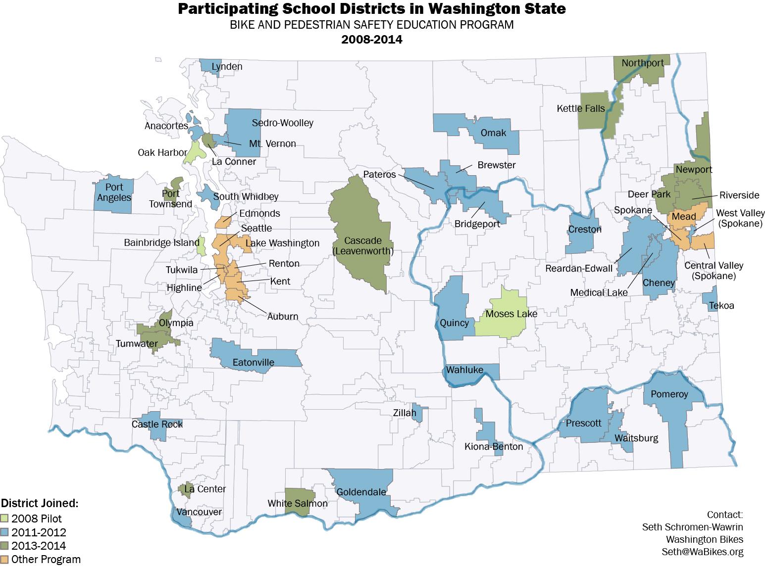 Safe Routes to School - Washington BikesWashington Bikes
