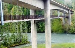 Crossing Elwha River