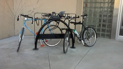 Spokane bike rack