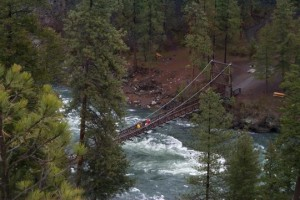 You'll spot this old trestle over the Spokane River if you hike or bike in Riverside State Park.