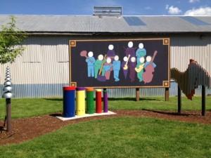 Centennial Trail Sound Garden - a Great Place for Children