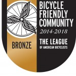 Sequim wins a bronze bicycle friendly community ranking from the League of American Bicyclists