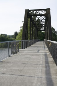 Centennial Trail crosses the Stillaguamish