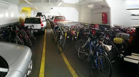 bikes on ferries - RebRoush