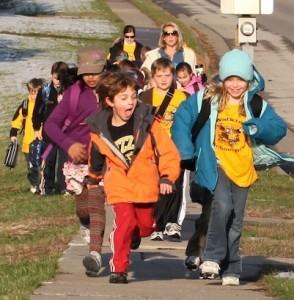 Walking School Bus Photo from Ped Net Website