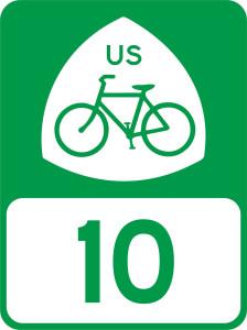 USBR 10 sign