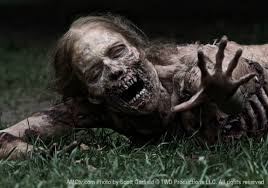 Bicycle Girl from Walking Dead