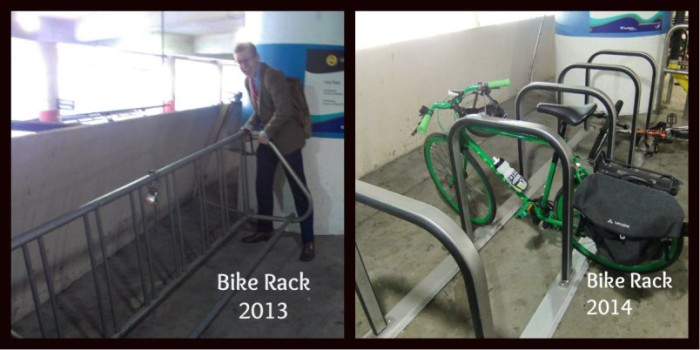 SeaTac Bike Racks 2