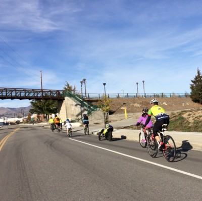 Bicycle Friendly Wenatchee helped by state transportation funding.