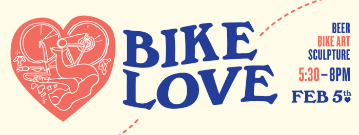 bike love party banner