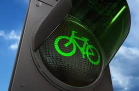 bicycle traffic signal green