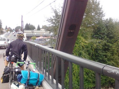 Bridge-coming-into-Snohomish_Loaded-bikes_forweb