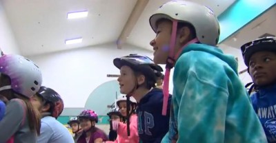 Students with Helmets - King 5 News