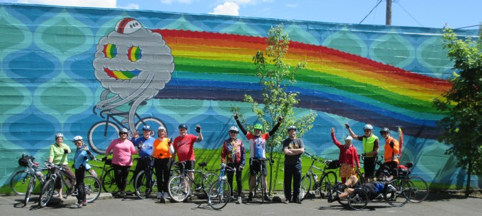 Cyclists have fun on event rides like Vancouver Bicycle Club's Ride Around Clark County.