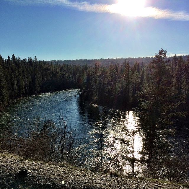 Another beautiful view of the Spokane River.