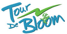 Tour de Bloom Omnium logo for annual bike race put on by Wenatchee Valley Velo