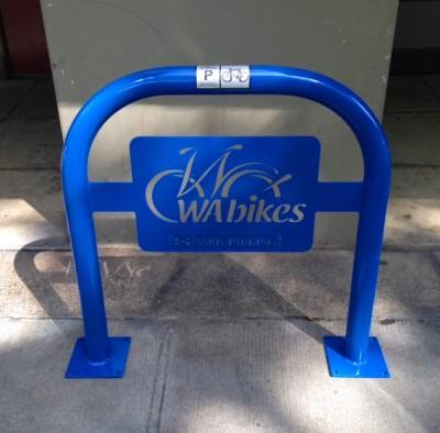 WA Bikes bike rack