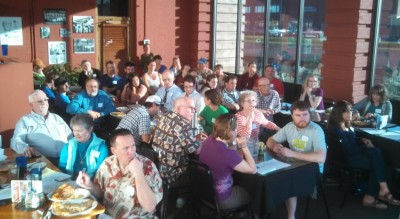Yakima citizens turn out for better biking and walkking.