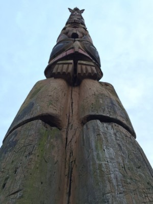 Totem pole in Tacoma, WA. David Killmon photo 2015