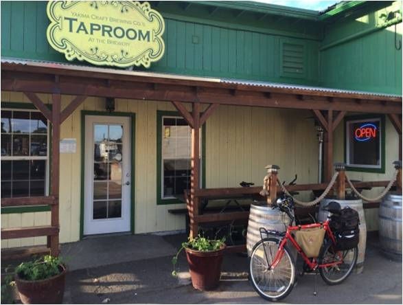Taproom and Bike