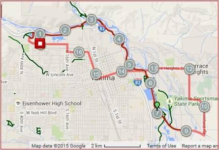 Yakima Beer and Cider Loop Washington BikesWashington Bikes