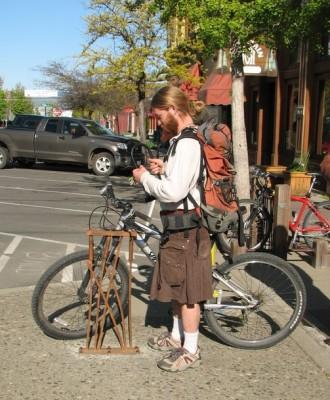 Ellensburg bike rack