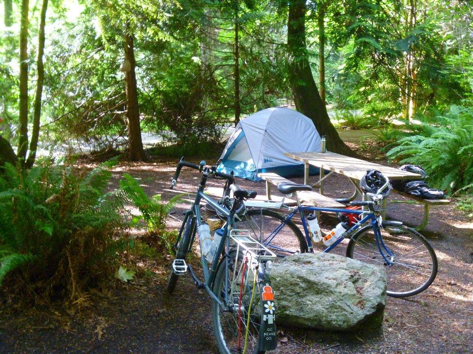 Easy Overnighter To Manchester State ParkWashington Bikes