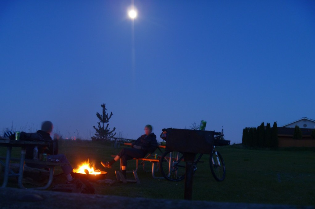 Fay Bainbridge State Park Moon