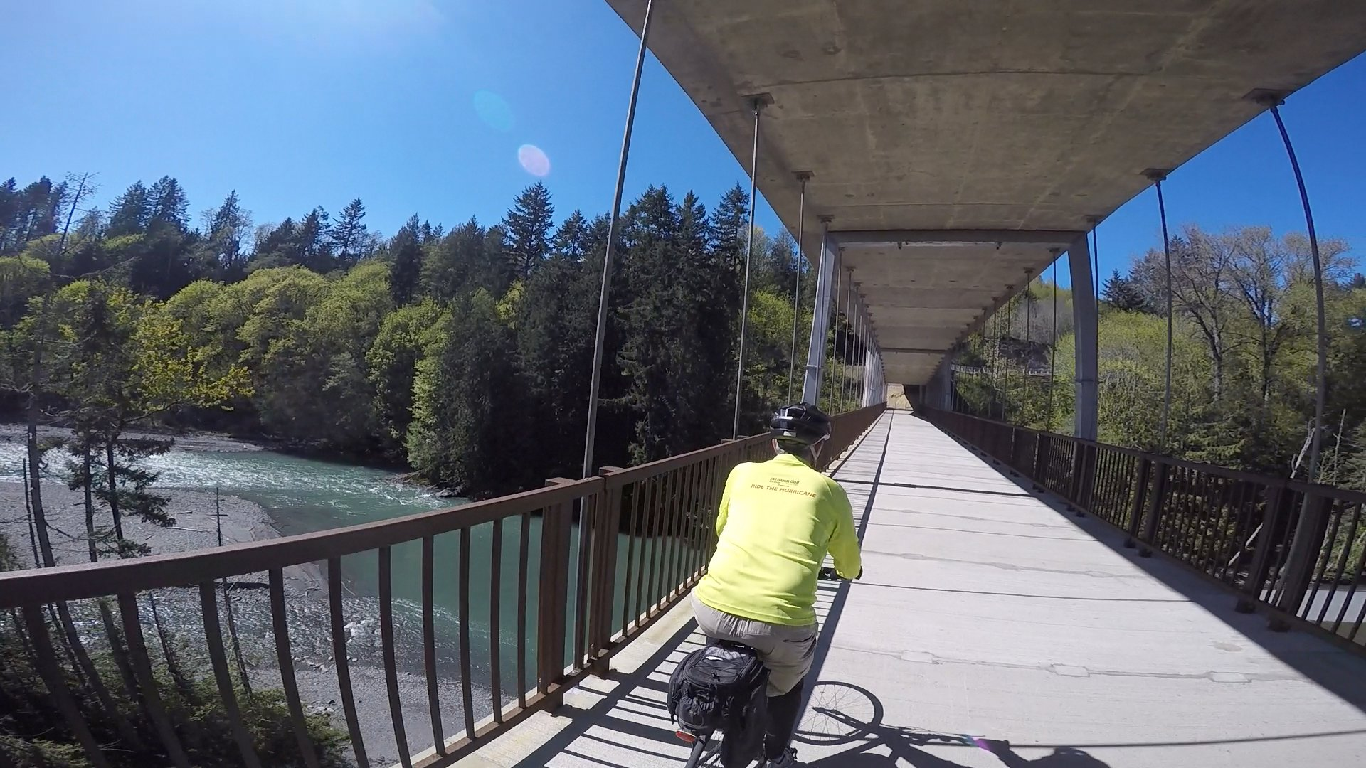 Olympic cycle port orchard - Odt Crossing Elwha River
