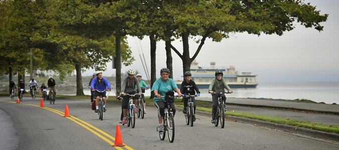 Metro Parks  Downtown to Defiance Bike/Run.    Photos by Russ Carmack