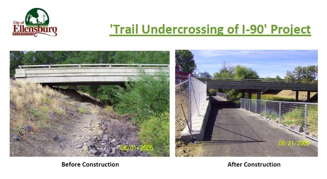 Ellensburg Trail Underpass