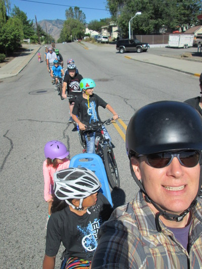 Kidical Mass Wenatchee Ride