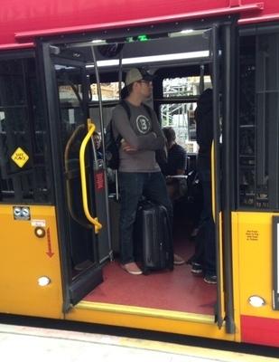 kneeling bus