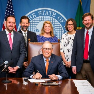 Washington state adds more bike capacity on busses with the passage of HB 1149.